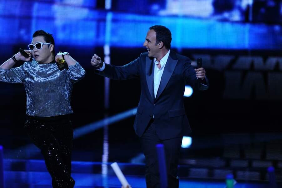 Après le Gangnam Style, Psy danse le sirtaki avec Nikos