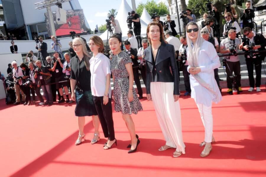 Les femmes du jury en mode été
