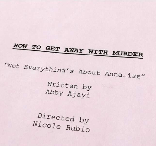 Sans oublier How to Get Away With Murder