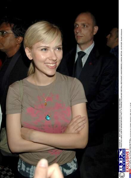 La jolie Scarlett Johansson a commencé sa carrière très jeune...