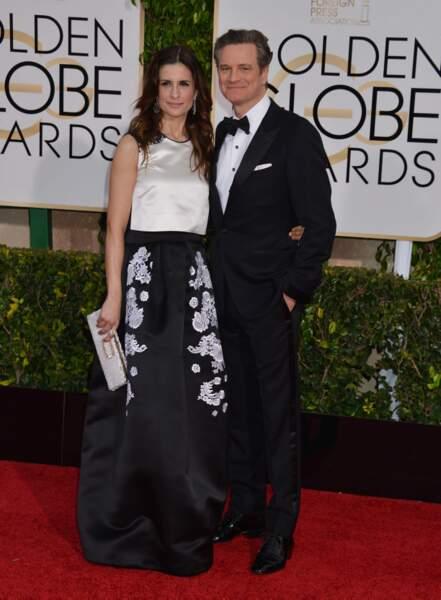 Colin Firth et sa femme