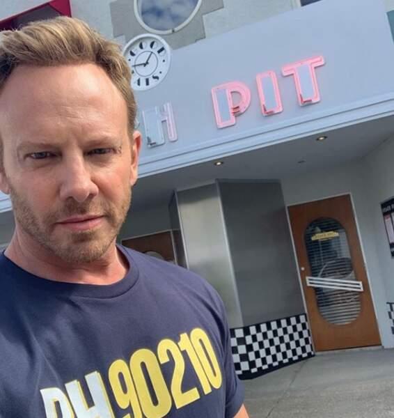Ian Ziering tease le retour du mythique Peach Pit dans BH 90210, le grand retour de Beverly Hills
