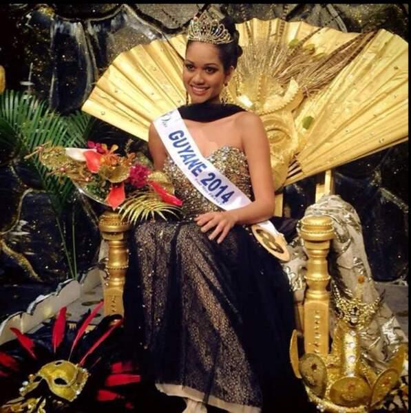 Valéria Coelho Maciel est Miss Guyane 2014