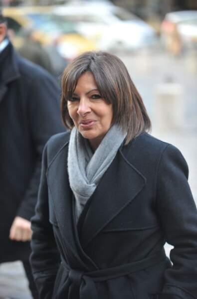 Le maire de Paris Anne Hidalgo.