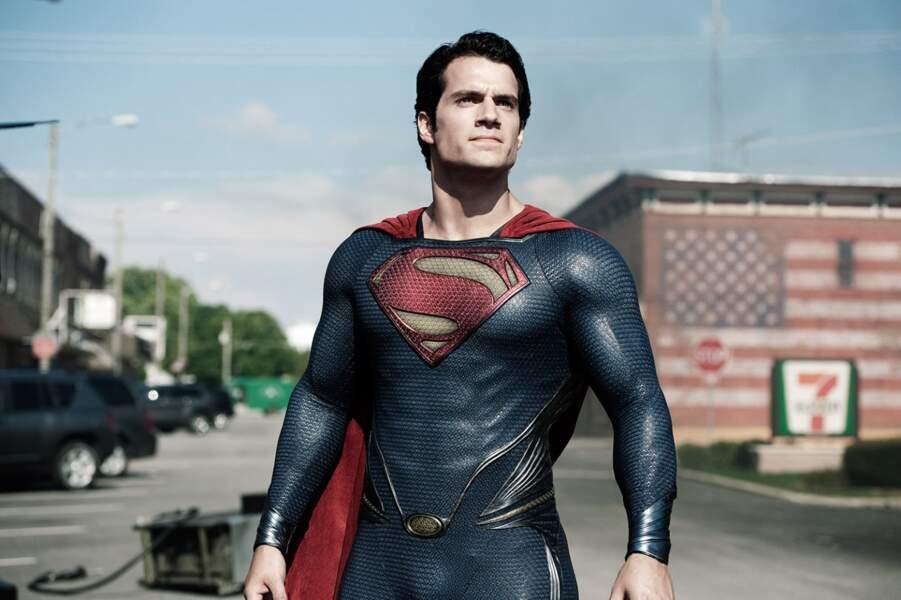 """S'il a """"perdu"""" plusieurs rôles au cours de sa carrière, il décroche en 2013 celui de Superman dans Man of Steel"""