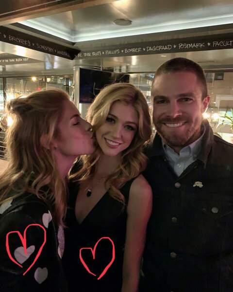 Dans la famille Arrow, on demande la fille ! Katherine McNamara incarne la fille d'Oliver et Felicity