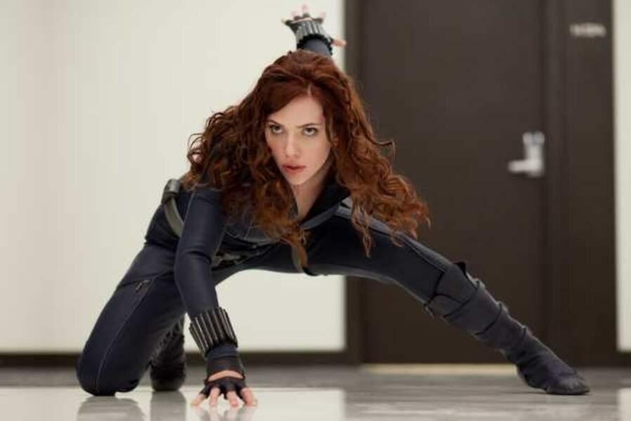 Iron Man 2, elle rejoint l'écurie Marvel dans le rôle de la Veuve noire (2010)