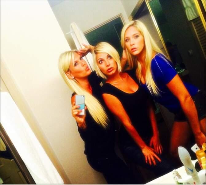 Trio de blondes