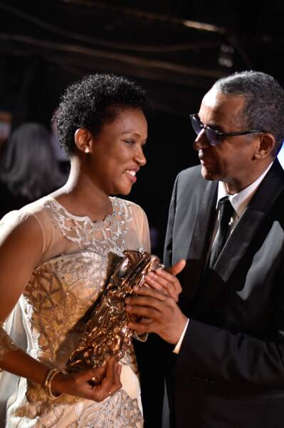 Le couple vainqueur de la soirée. Au total, Timbuktu a récolté 7 César, dont le meilleur film
