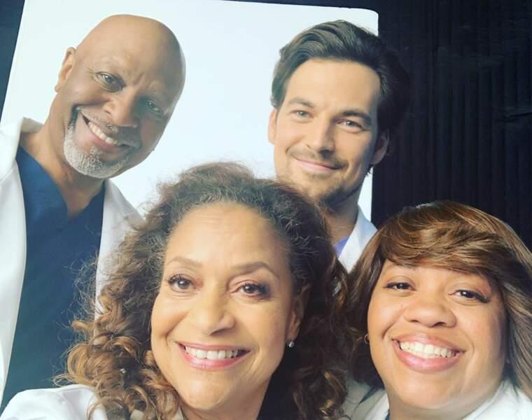 L'équipe de Grey's Anatomy est ravie de tourner la saison 16