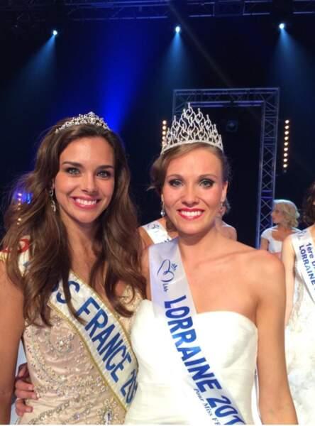 Charlène Lallemand, 18 ans, élue Miss Lorraine 2014