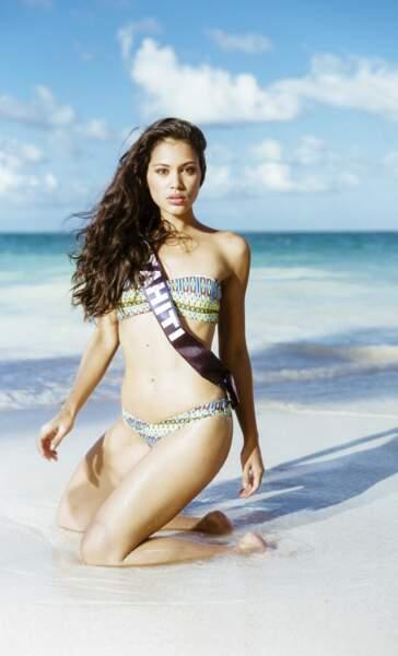 Miss Tahiti : Hinarere Taputu