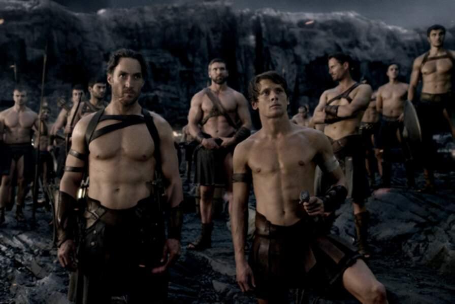 Il incarne Scyllias, bras droit du héros Thémistocle (Sullivan Stapleton)