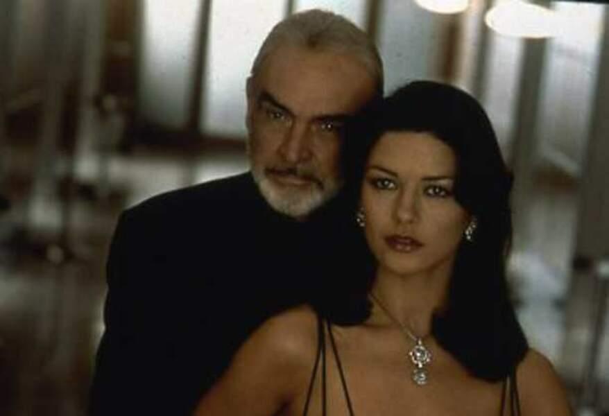Initiée au cambriolage par Sean Connery dans Haute Voltige