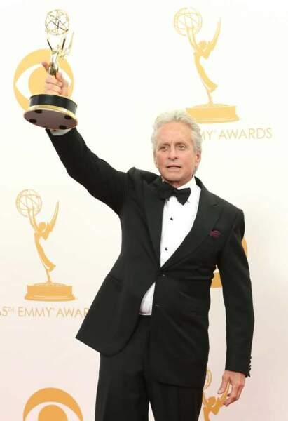 Michael Douglas : prix du meilleur acteur dans un téléfilm pour Ma vie avec Liberace