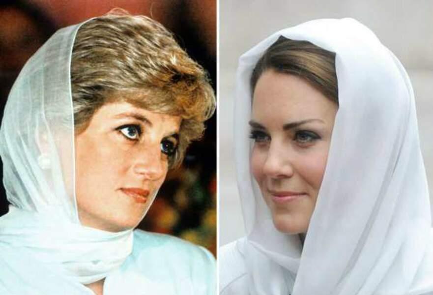 Diana, un modèle encore présent pour Kate
