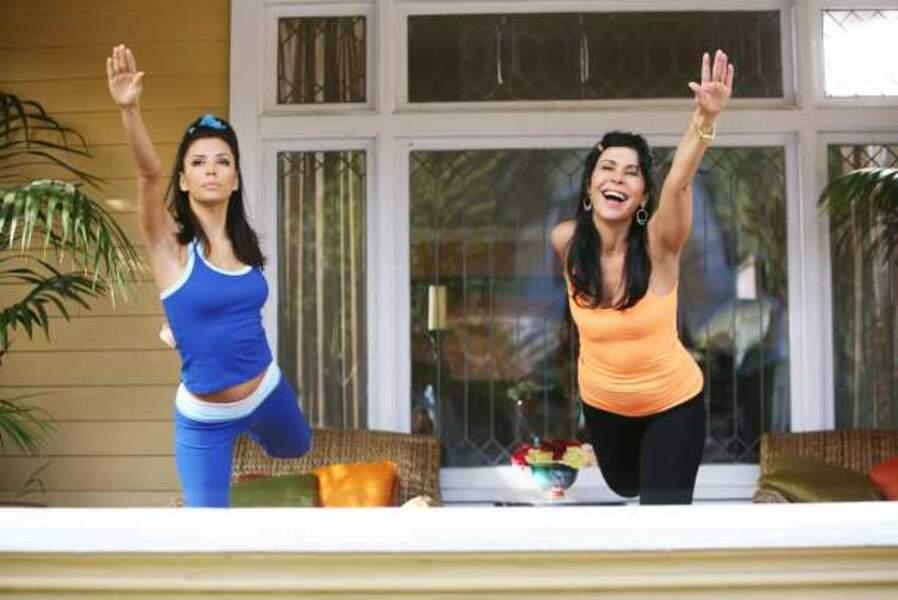 Desperate Housewives - Gabrielle fait du sport