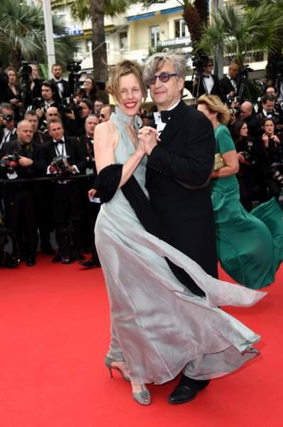 Wim Wenders et sa femme Donata