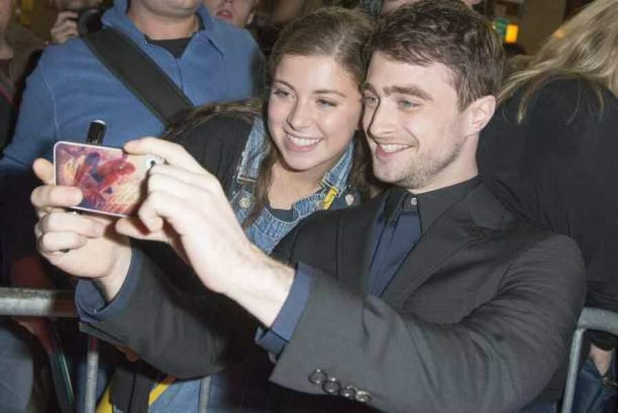 Daniel Radcliffe proche de ses fans