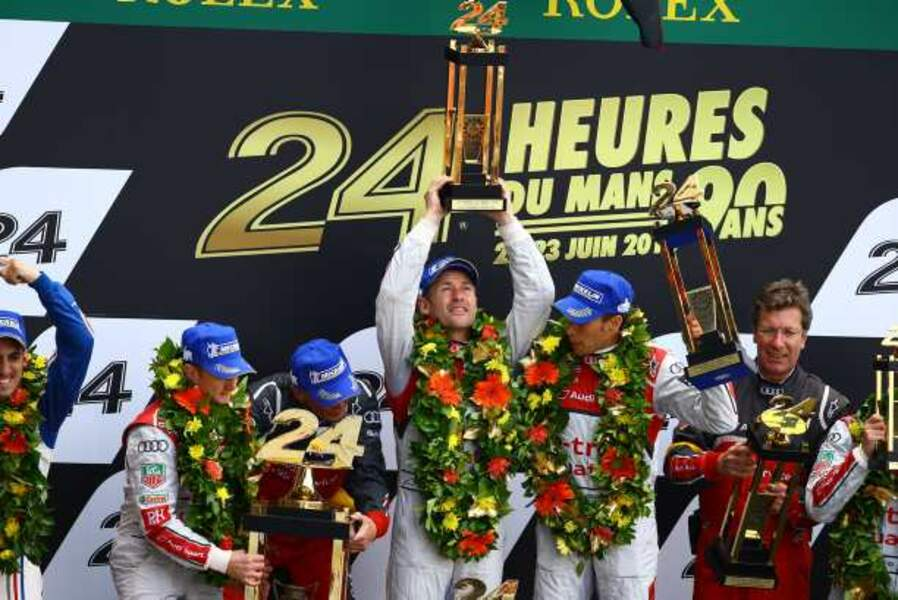 Les vainqueurs des 24 heures du Mans 2013
