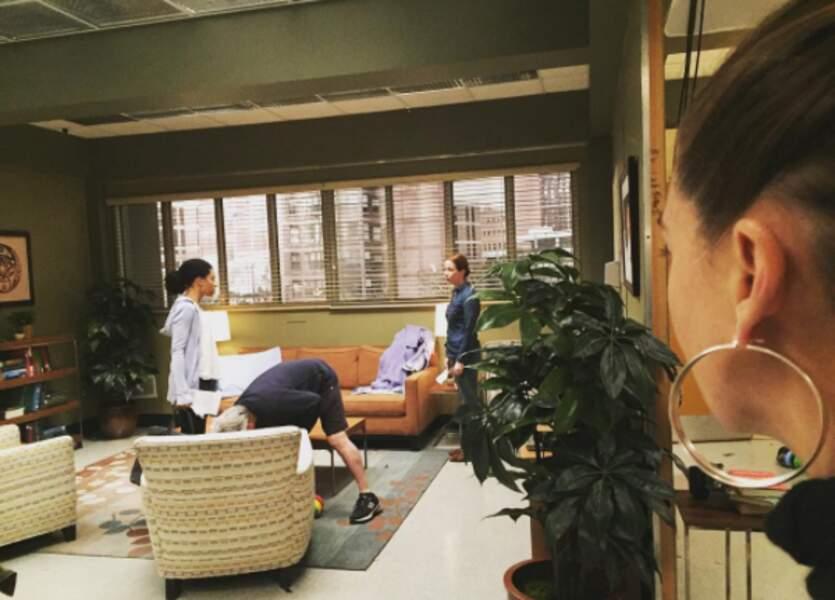 Et les créoles d'Ellen Pompeo qui dirige son premier épisode de Grey's Anatomy
