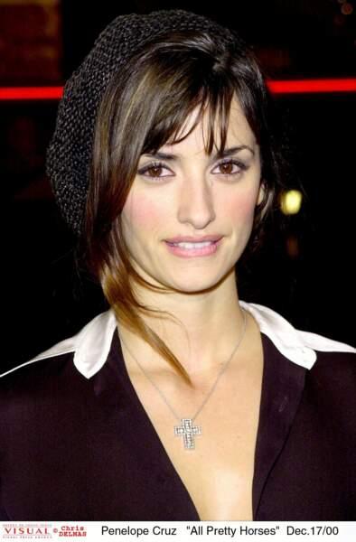 En 2001, elle est tellement chou à la Première du film De si jolis chevaux, où elle joue aux côtés de Matt Damon