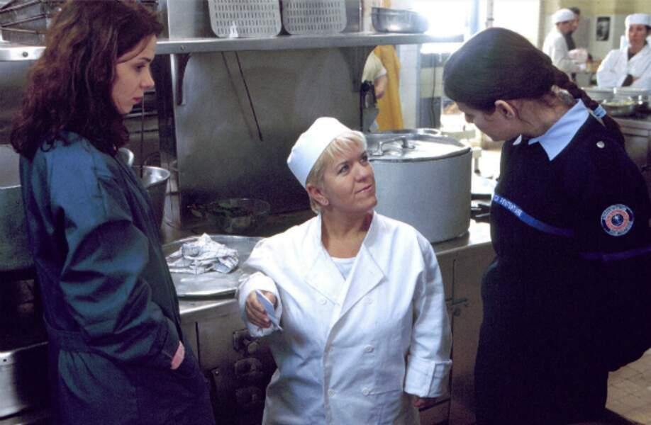 Joséphine à la cuisine