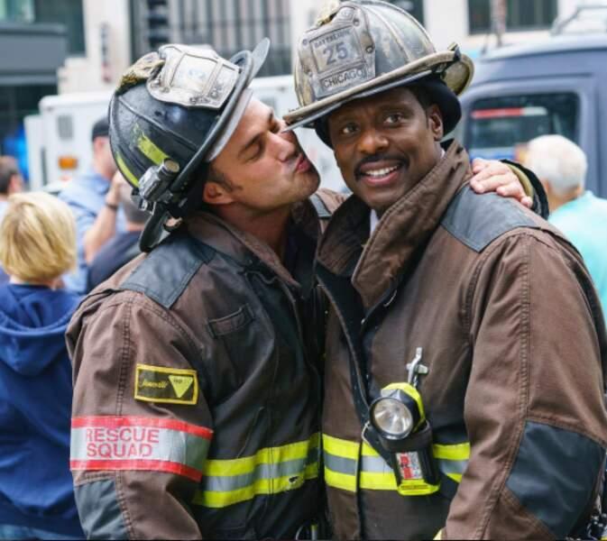 Et un bisou de Chicago Fire