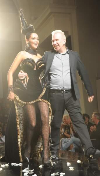 En juillet 2013, elle défile pour Jean-Paul Gaultier.