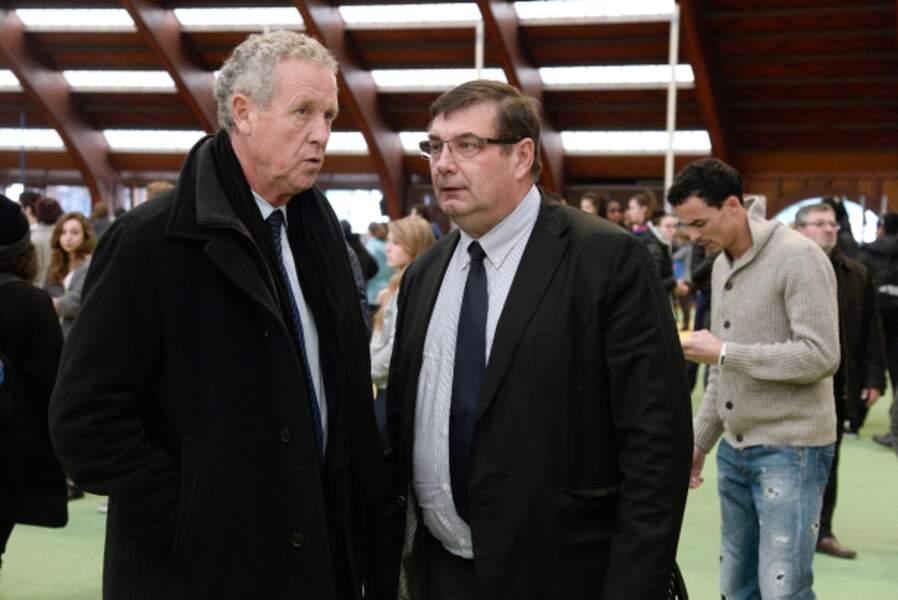 Guy Drut et Jean-François Lamour, ancien ministres