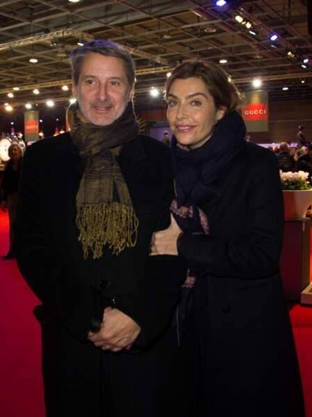 Antoine de Caunes et Daphne Roulier