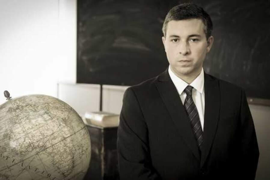 Monsieur Famin, professeur d'Histoire- Géographie et de Travaux Manuels