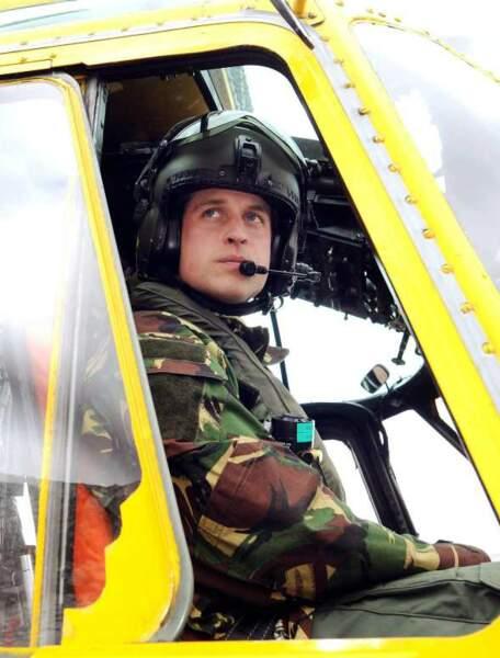 Le prince William, capitaine de l'armée de l'air