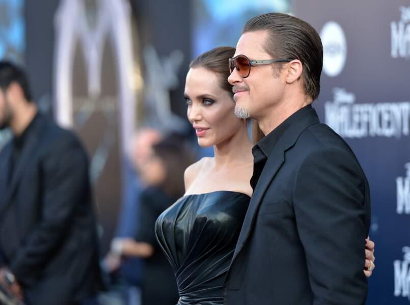 Angelina Jolie et Brad Pitt, toujours aussi soudés