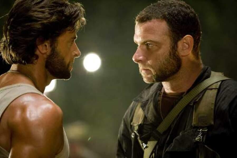 X-Men Origins: Wolverine (de Gavin Hood, 2009) : avec Liev Schreiber