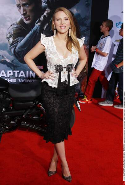 Quelle femme fatale cette Scarlett !