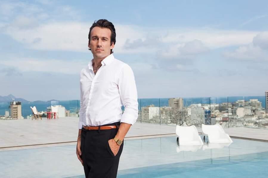 Le nouveau parrain se nomme Benjamin Cano. Il est entrepreneur et créateur français