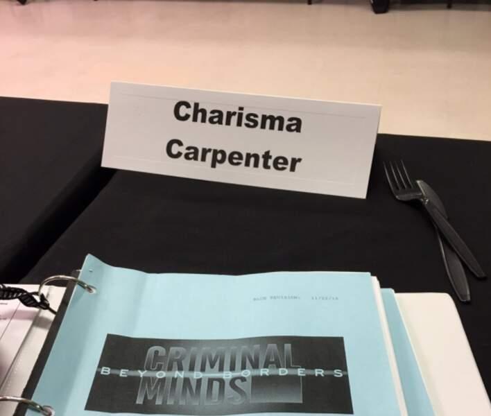 Charisma Carpenter annonce sa participation à Esprits criminels : unité sans frontières