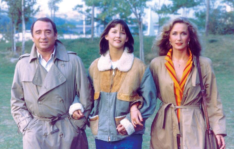 Claude Brasseur et Brigitte Fossey jouent ses parents dans La Boum 2