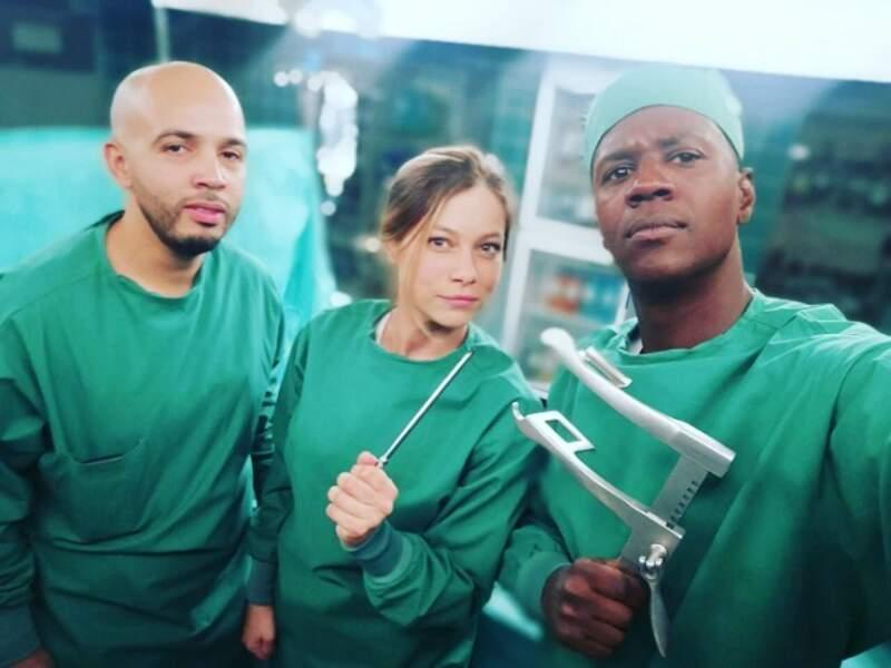 David Baiot a troqué sa plaque de flic (Caïn) pour enfiler la blouse dans H24, la prochaine série médicale de TF1