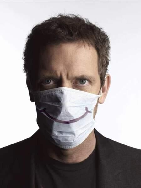 Dr House n'a pas sa langue dans sa poche