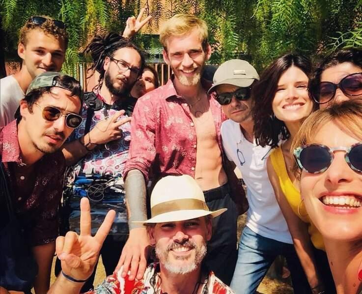 Stéphane Pitti, alias Max, nouveau venu aussi au Mistral, a pu apprécier l'accueil des acteurs de Plus belle la vie