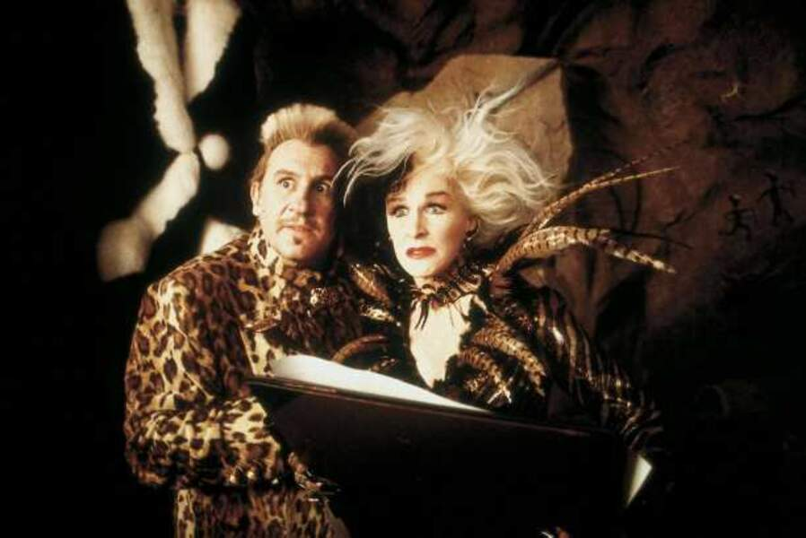 Les 102 dalmatiens (Kevin Lima 2001) : avec Glenn Close