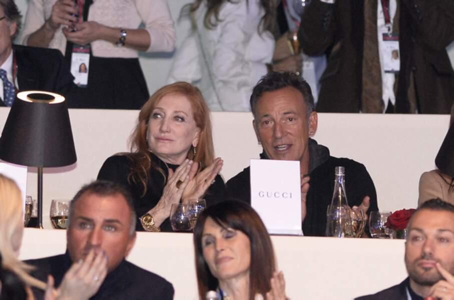 Patti Scialfa et Bruce Springsteen