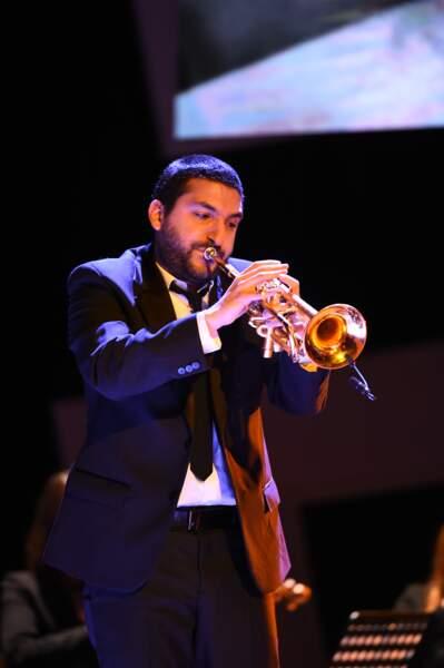 Ibrahim Maalouf l'a accompagné à la trompette