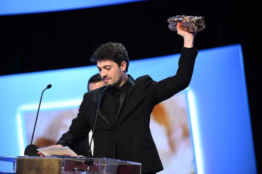 Belle soirée pour le jeune cinéaste, dont le premier long métrage a reçu trois prix dans la soirée
