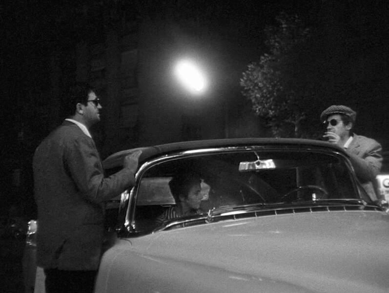 Roger Hanin tourne dans A bout de souffle de Jean-Luc Godard (1959)