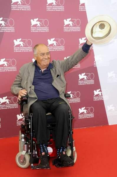 Bernardo Bertolucci, président du jury de la Mostra de Venise