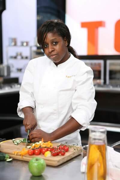 Fatimata Amadou, 21 ans, La Courneuve - commis de cuisine, bientôt demi-chef de partie au Salon première Air France
