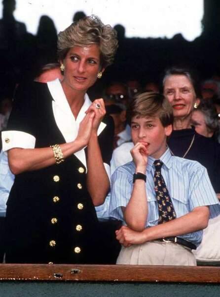 1994 : Diana emmène William à Wimbledon